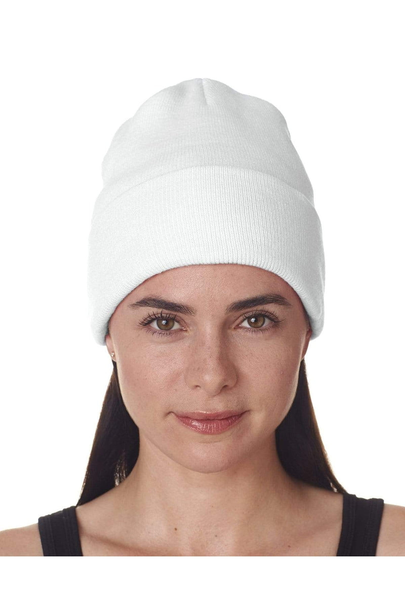 UltraClub 8130: Adult Knit Beanie with Cuff