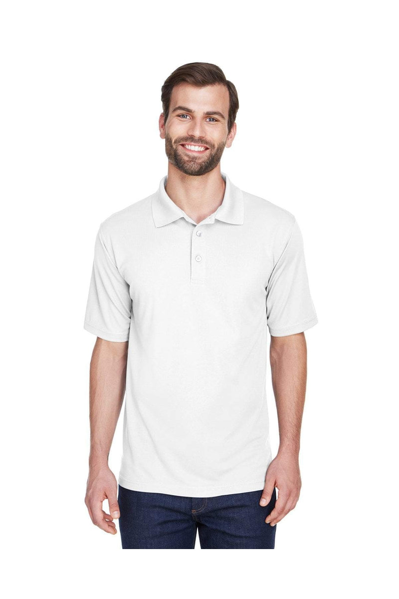 UltraClub 8210: Men's Cool & Dry Mesh Pique Polo-Polos-Bulkthreads.com, Wholesale T-Shirts and Tanks