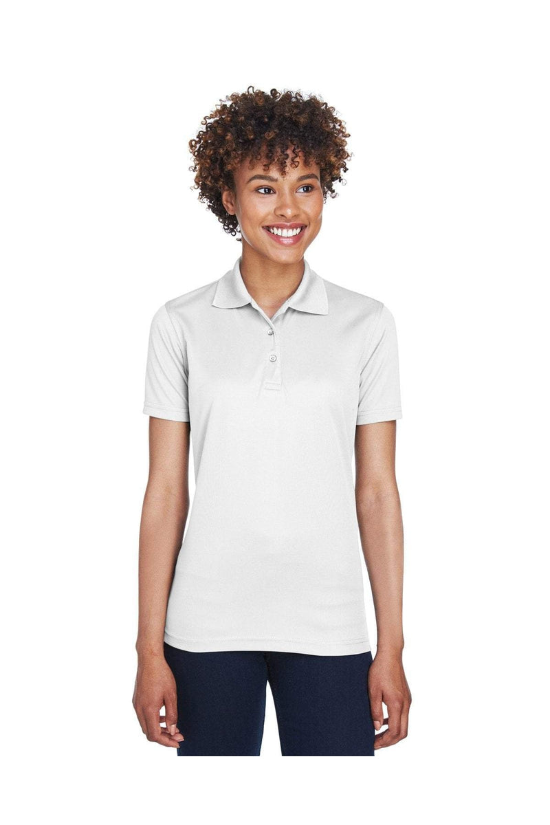 UltraClub 8210L: Ladies' Cool & Dry Mesh Pique Polo-Polos-Bulkthreads.com, Wholesale T-Shirts and Tanks