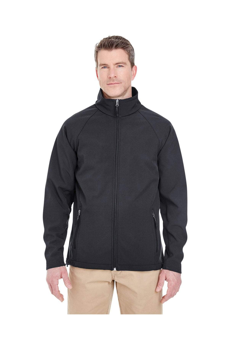 UltraClub 8265: Men's Soft Shell Jacket-Outerwear-Bulkthreads.com, Wholesale T-Shirts and Tanks
