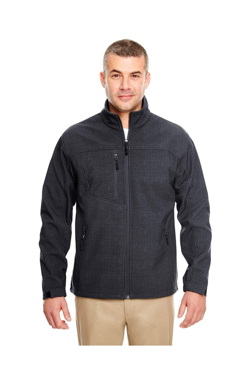 UltraClub 8277: Adult Printed Soft Shell Jacket-Outerwear-Bulkthreads.com, Wholesale T-Shirts and Tanks