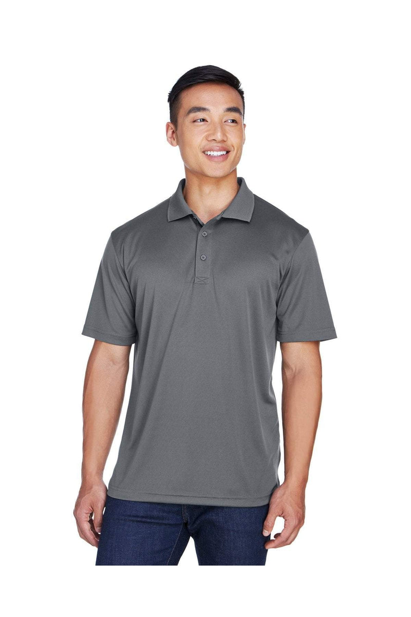 UltraClub 8405: Men's Cool & Dry Sport Polo, Basic Colors-Polos-Bulkthreads.com, Wholesale T-Shirts and Tanks