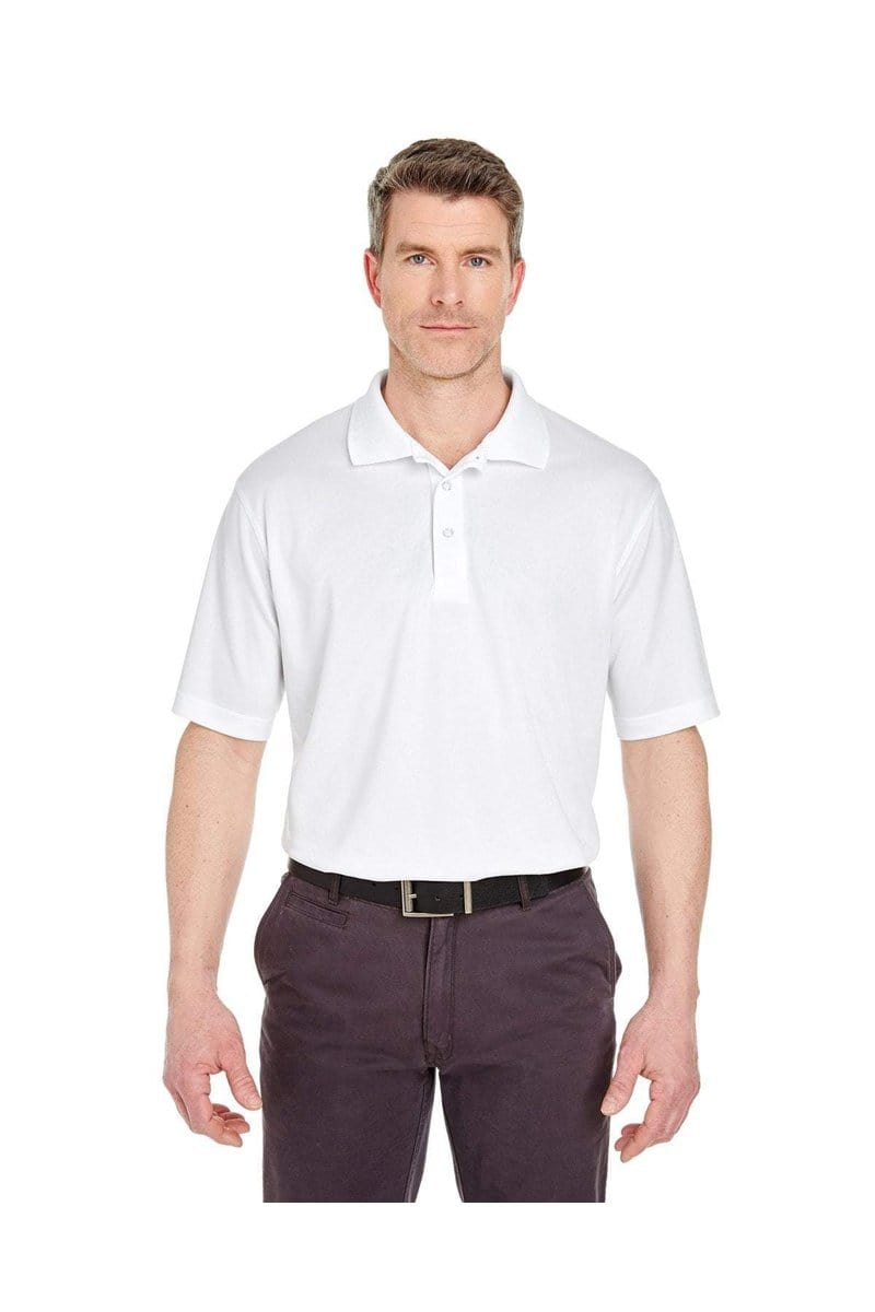 UltraClub 8405T: Men's Tall Cool & Dry Sport Polo-Polos-Bulkthreads.com, Wholesale T-Shirts and Tanks