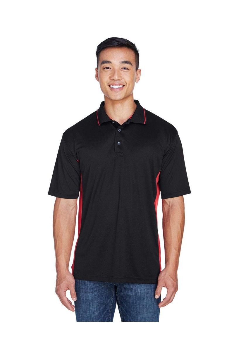 UltraClub 8406: Men's Cool & Dry Sport Two-Tone Polo-Polos-Bulkthreads.com, Wholesale T-Shirts and Tanks