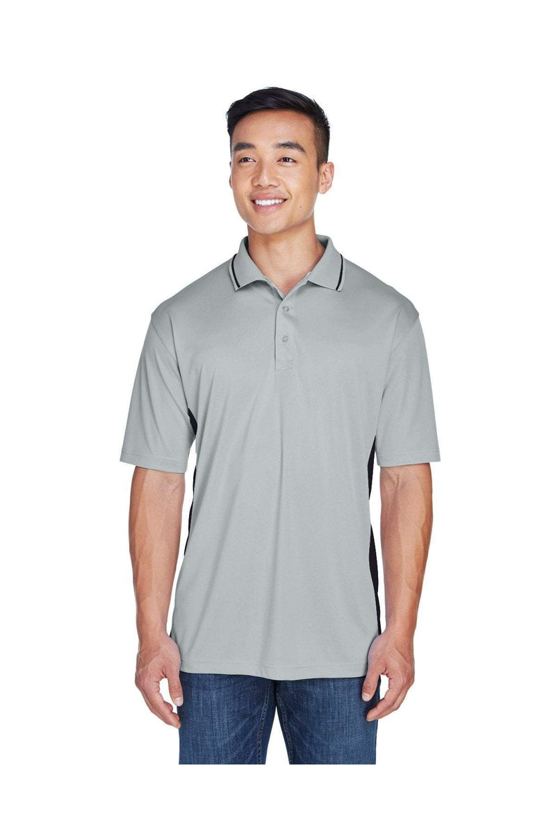 UltraClub 8406: Men's Cool & Dry Sport Two-Tone Polo, Basic Colors-Polos-Bulkthreads.com, Wholesale T-Shirts and Tanks