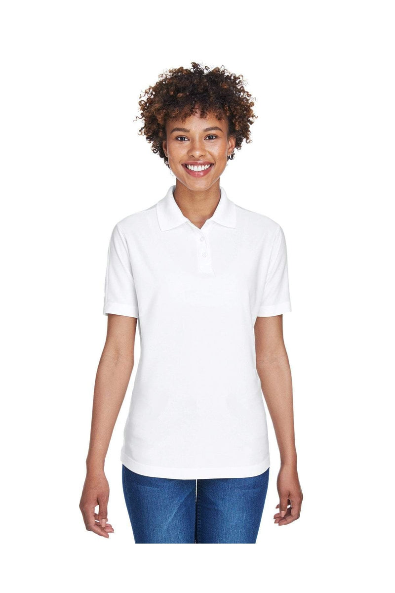 UltraClub 8414: Ladies' Cool & Dry Elite Performance Polo-Polos-Bulkthreads.com, Wholesale T-Shirts and Tanks