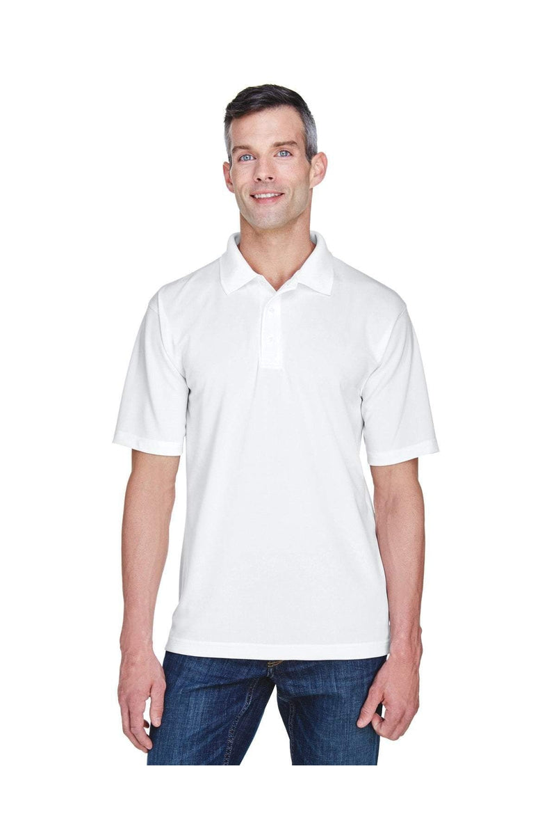 UltraClub 8445: Men's Cool & Dry Stain-Release Performance Polo-Polos-Bulkthreads.com, Wholesale T-Shirts and Tanks