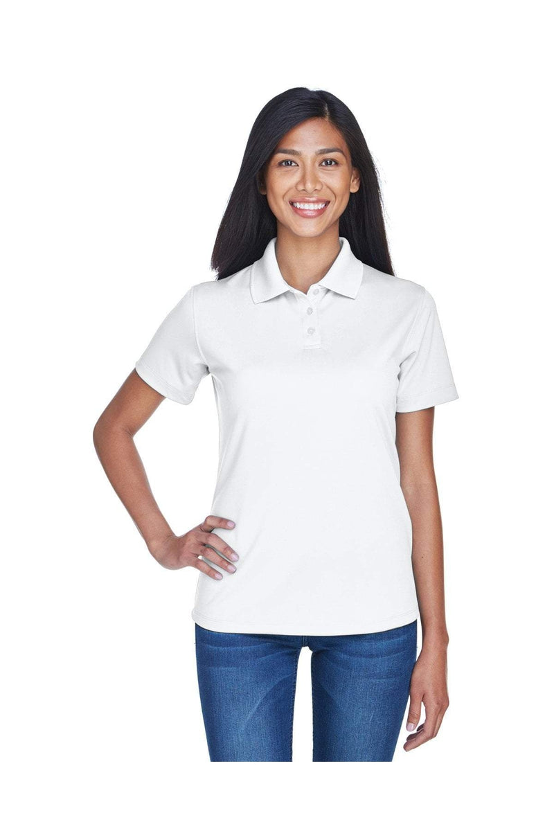 UltraClub 8445L: Ladies' Cool & Dry Stain-Release Performance Polo-Polos-Bulkthreads.com, Wholesale T-Shirts and Tanks