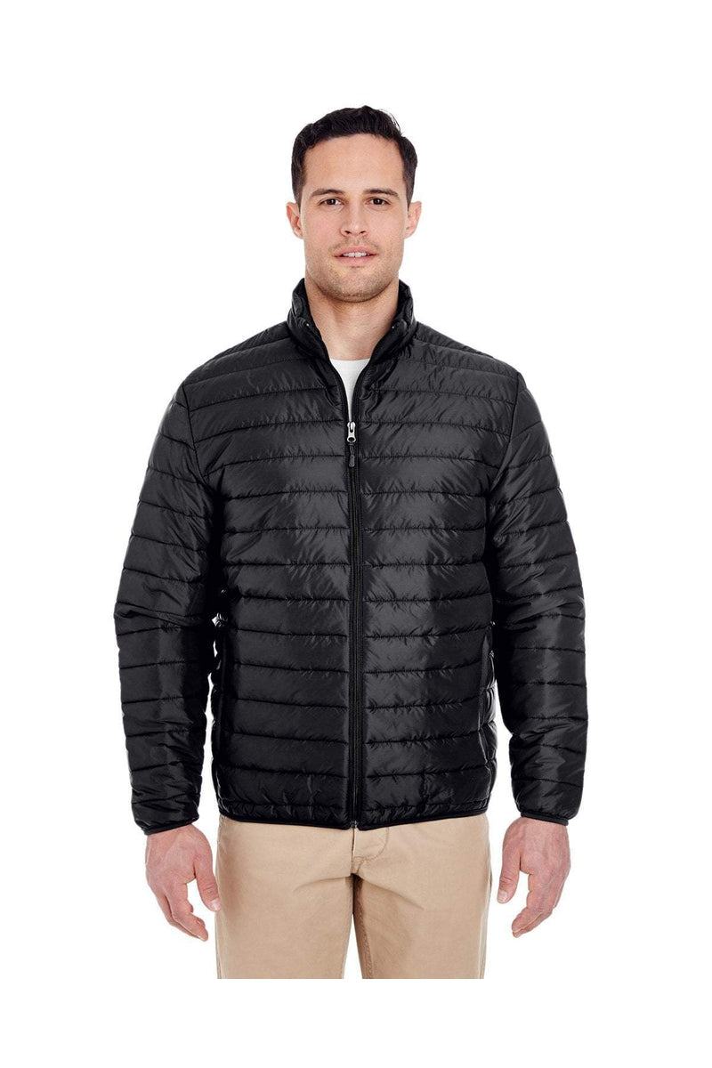 UltraClub 8469: Adult Quilted Puffy Jacket-Outerwear-Bulkthreads.com, Wholesale T-Shirts and Tanks