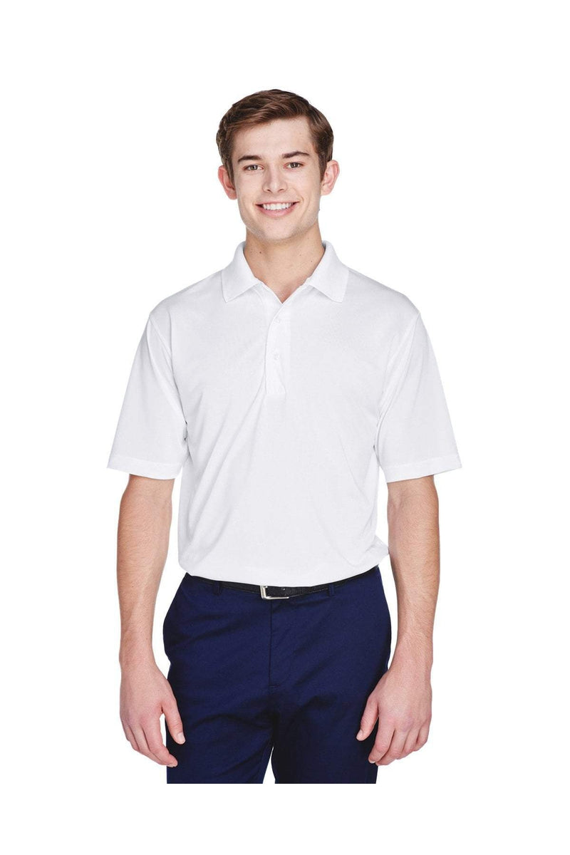 UltraClub 8610: Men's Cool & Dry 8-Star Elite Performance Interlock Polo-Polos-Bulkthreads.com, Wholesale T-Shirts and Tanks