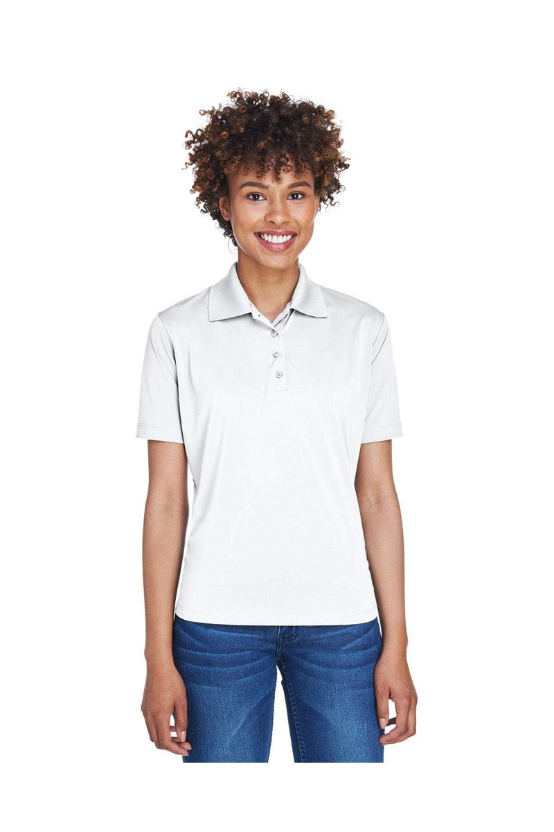 UltraClub 8610L: Ladies' Cool & Dry 8-Star Elite Performance Interlock Polo-Polos-Bulkthreads.com, Wholesale T-Shirts and Tanks