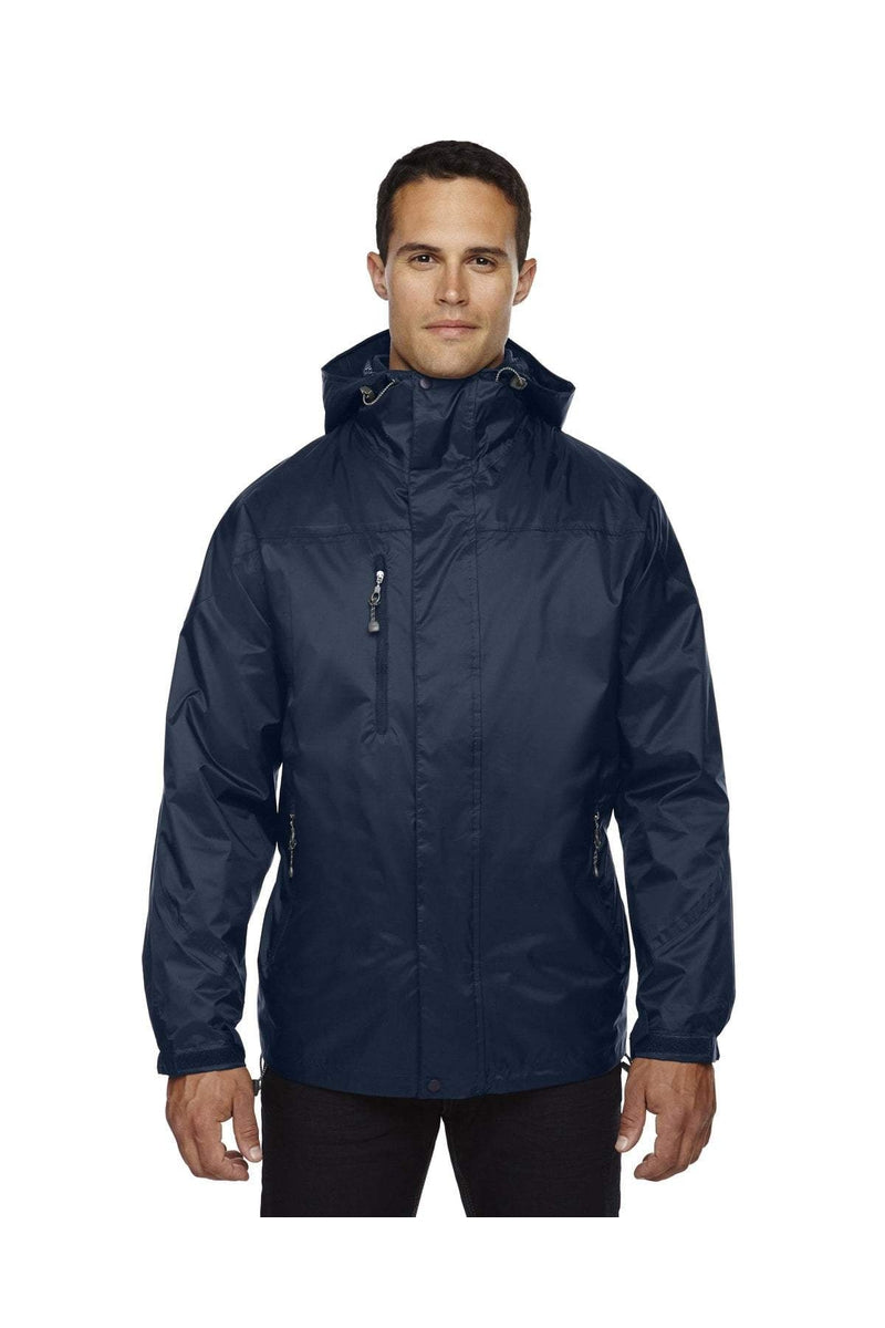 Ash City - North End 88120: Adult Performance 3-in-1 Seam-Sealed Hooded Jacket-Outerwear-Bulkthreads.com, Wholesale T-Shirts and Tanks