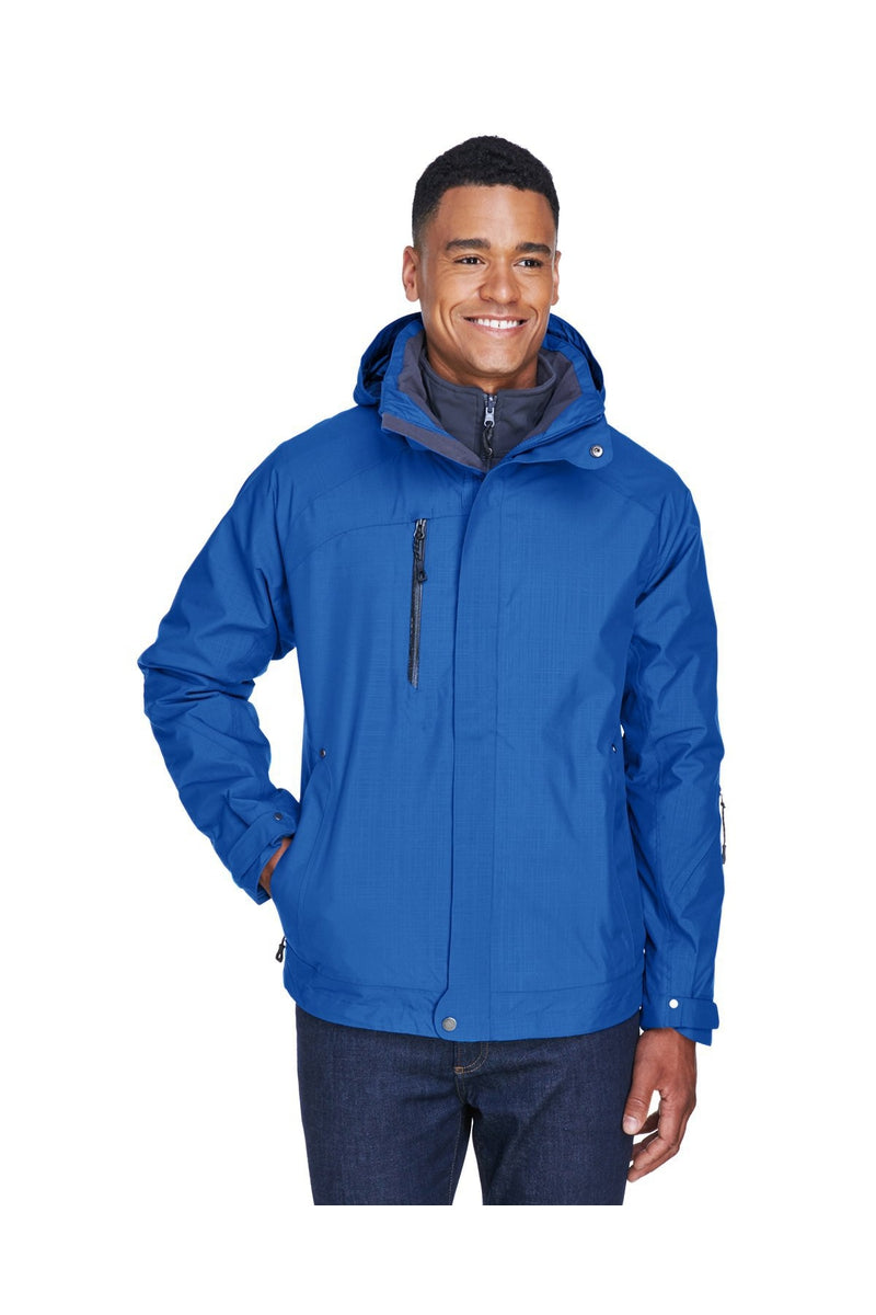 Ash City - North End 88178: Men's Caprice 3-in-1 Jacket with Soft Shell Liner-Outerwear-Bulkthreads.com, Wholesale T-Shirts and Tanks