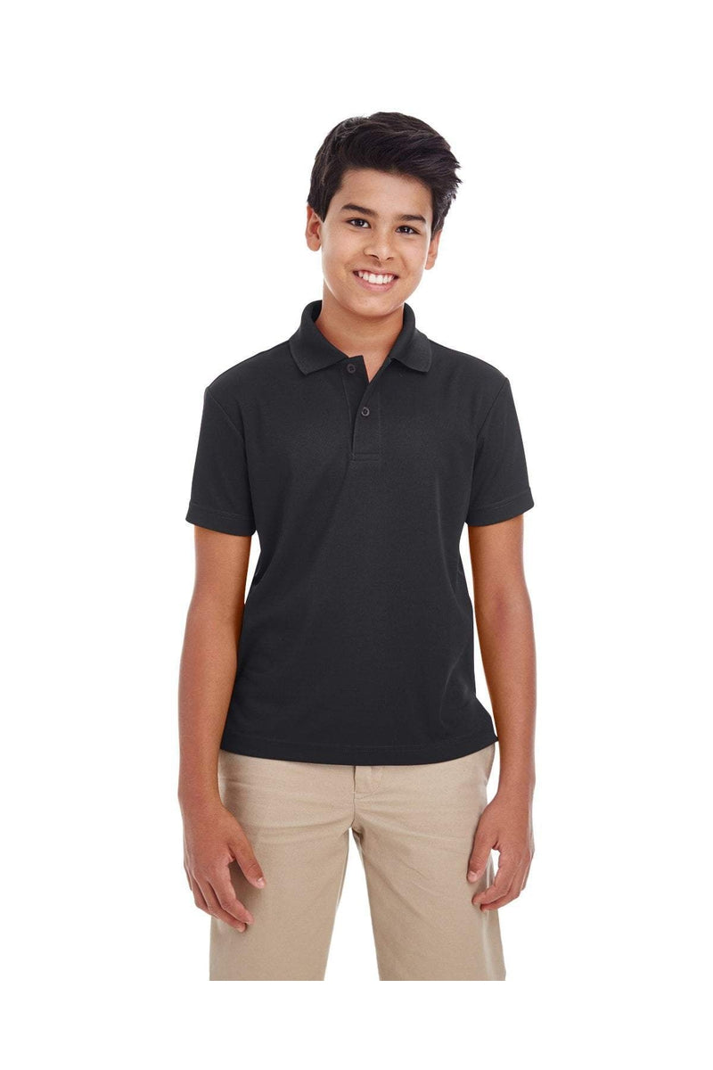 Ash City - Core 365 88181Y: Youth Origin Performance Pique Polo-Polos-Bulkthreads.com, Wholesale T-Shirts and Tanks
