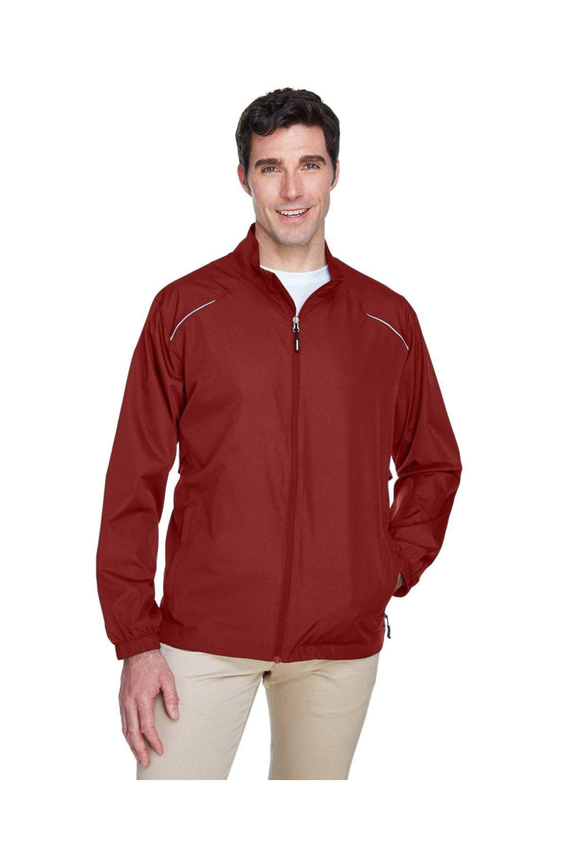 Ash City - Core 365 88183: Men's Motivate Unlined Lightweight Jacket, Basic Colors-Outerwear-Bulkthreads.com, Wholesale T-Shirts and Tanks