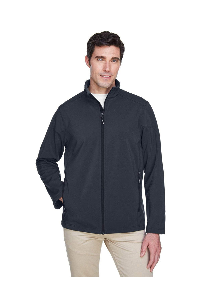 Ash City - Core 365 88184: Men's Cruise Two-Layer Fleece Bonded Soft Shell Jacket-Outerwear-Bulkthreads.com, Wholesale T-Shirts and Tanks