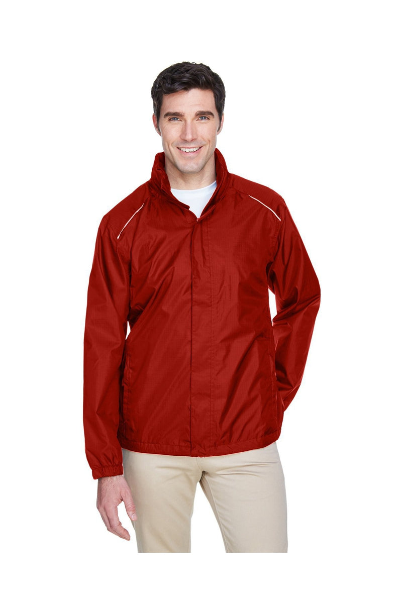 Ash City - Core 365 88185: Men's Climate Seam-Sealed Lightweight Variegated Ripstop Jacket-Outerwear-Bulkthreads.com, Wholesale T-Shirts and Tanks