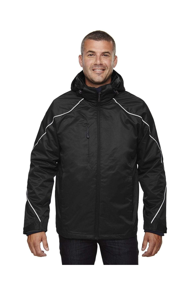 Ash City - North End 88196T: Men's Tall Angle 3-in-1 Jacket with Bonded Fleece Liner-Outerwear-Bulkthreads.com, Wholesale T-Shirts and Tanks