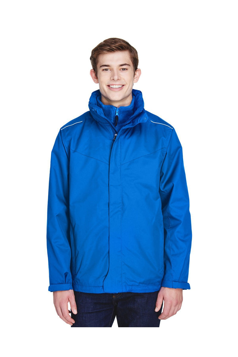 Ash City - Core 365 88205: Men's Region 3-in-1 Jacket with Fleece Liner-Outerwear-Bulkthreads.com, Wholesale T-Shirts and Tanks