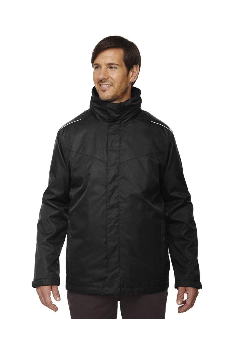 Ash City - Core 365 88205T: Men's Tall Region 3-in-1 Jacket with Fleece Liner-Outerwear-Bulkthreads.com, Wholesale T-Shirts and Tanks