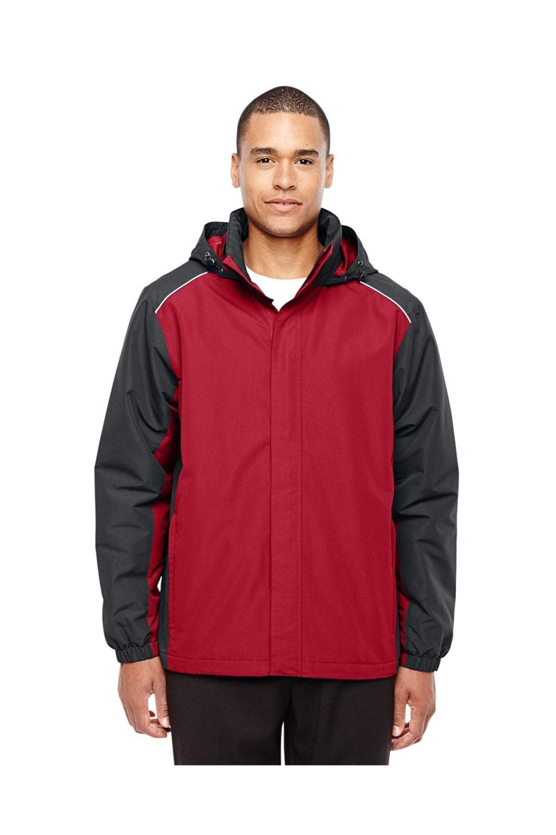 Ash City - Core 365 88225: Men's Inspire Colorblock All-Season Jacket-Outerwear-Bulkthreads.com, Wholesale T-Shirts and Tanks