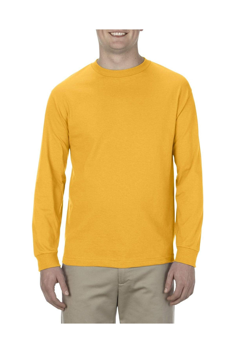 Alstyle AL1304: Adult 6.0 oz., 100% Cotton Long-Sleeve T-Shirt, Basic Colors-T-Shirts-wholesale apparel