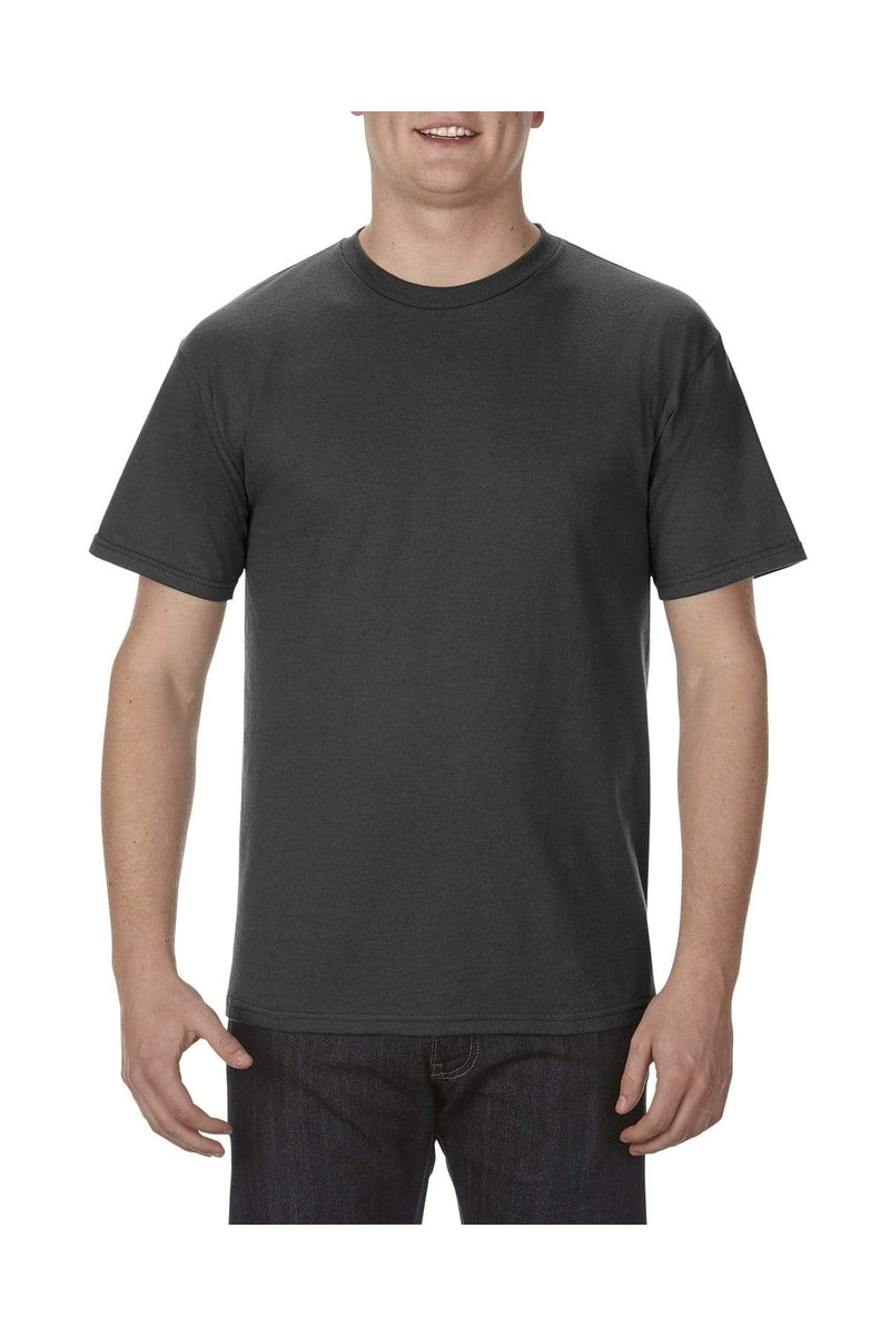 Alstyle AL1701: Adult 5.5 oz., 100% Soft Spun Cotton T-Shirt, Basic Colors-T-Shirts-wholesale apparel