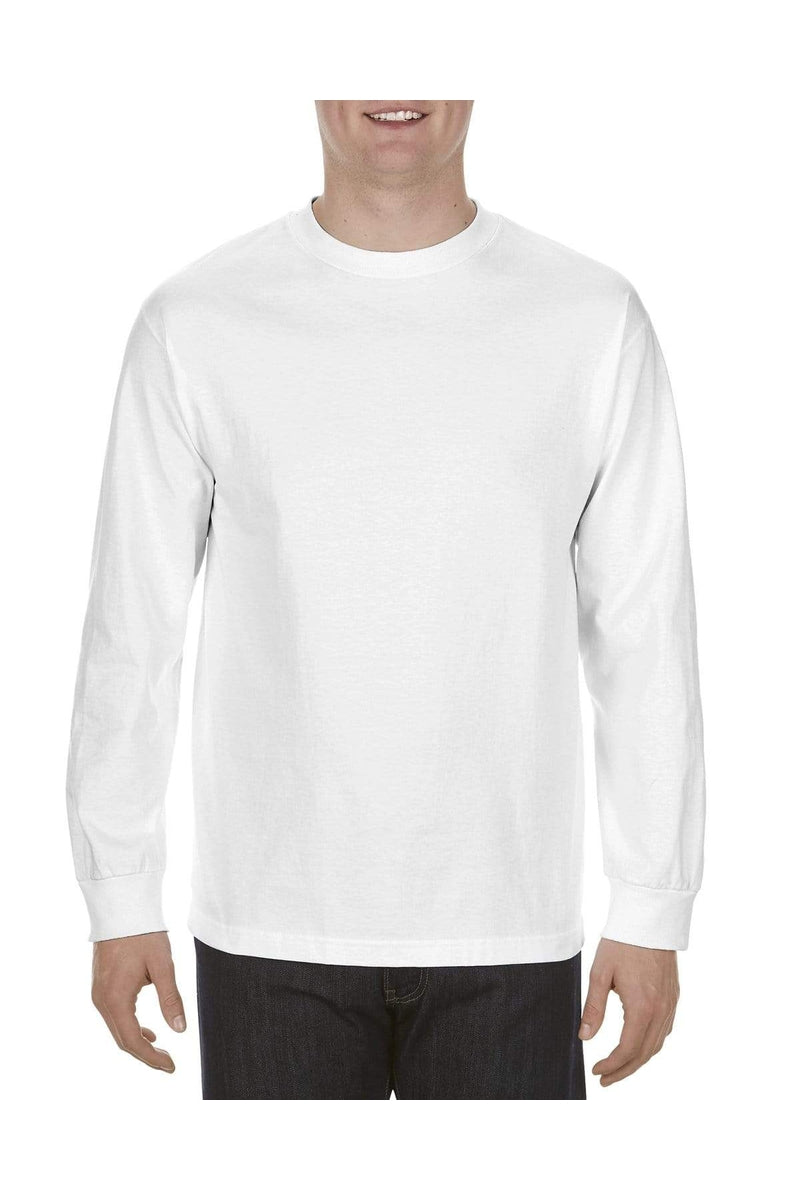 Alstyle AL1904: Adult 5.1 oz., 100% Soft Spun Cotton Long-Sleeve T-Shirt-T-Shirts-wholesale apparel