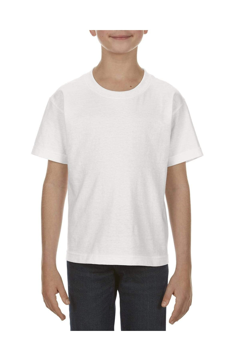 Alstyle AL3381: Youth 6.0 oz., 100% Cotton T-Shirt-T-Shirts-wholesale apparel