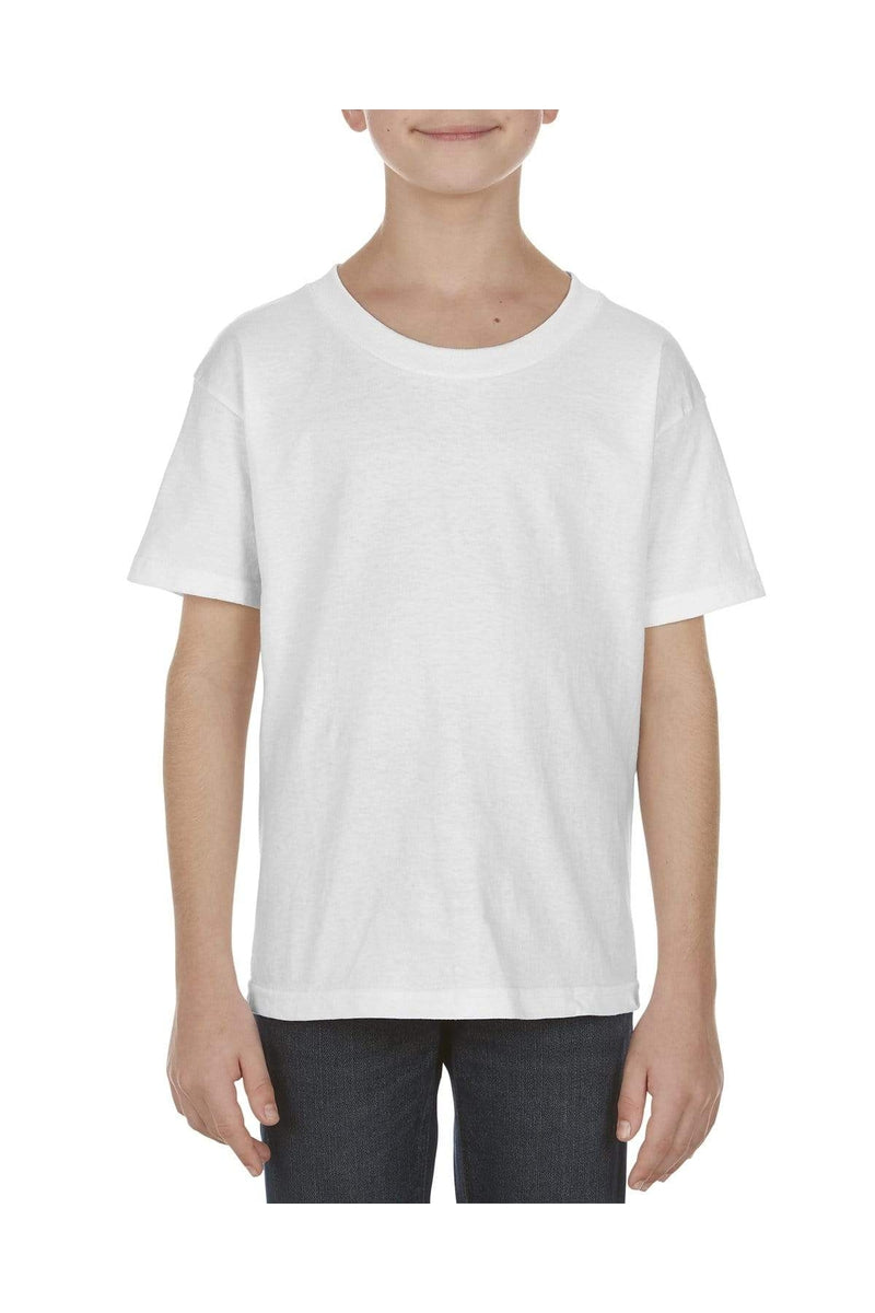 Alstyle AL3981: Youth 5.1 oz., 100% Soft Spun Cotton T-Shirt-T-Shirts-wholesale apparel