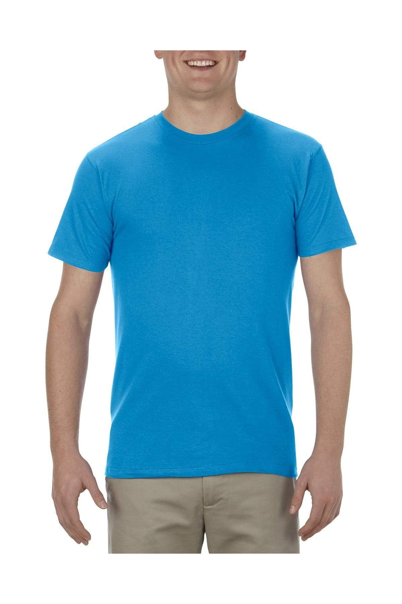 Alstyle AL5301N: Adult 4.3 oz., Ringspun Cotton T-Shirt, Basic Colors-T-Shirts-wholesale apparel