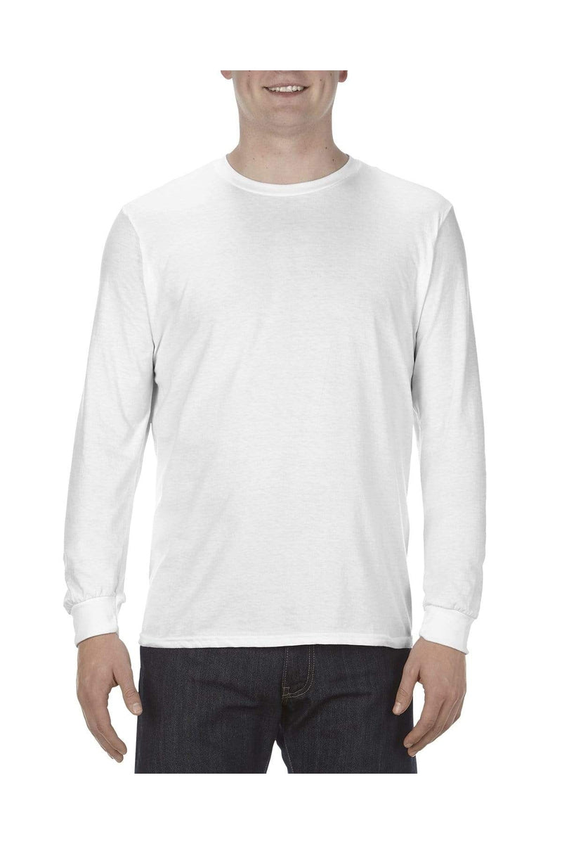 Alstyle AL5304: Adult 4.3 oz., Ringspun Cotton Long-Sleeve T-Shirt-T-Shirts-wholesale apparel