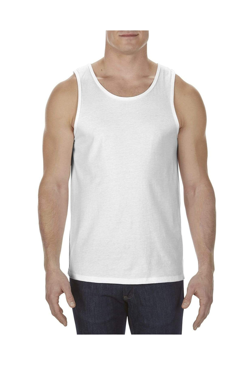 Alstyle AL5307: Adult 4.3 oz., Ringspun Cotton Tank Top-T-Shirts-wholesale apparel