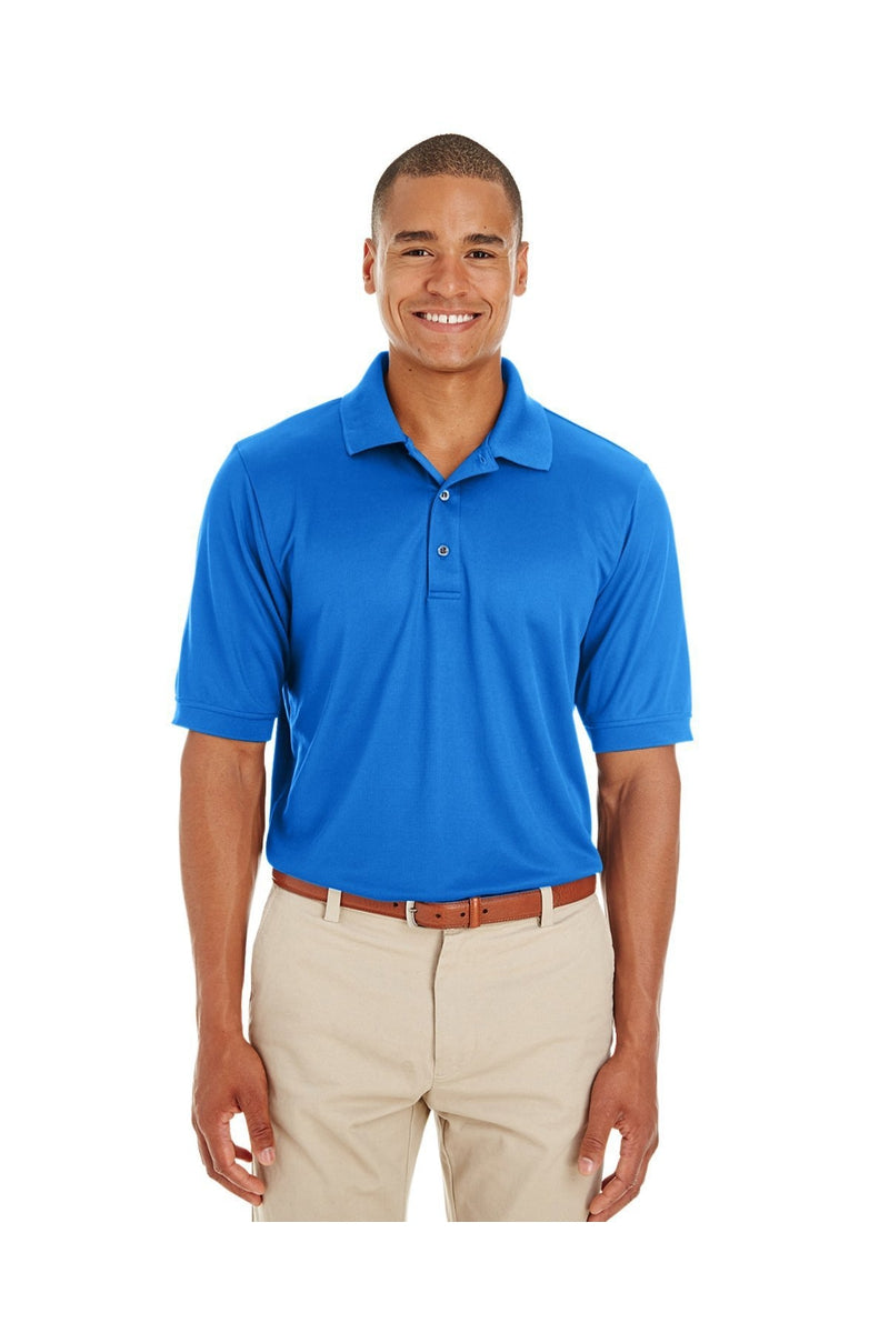 Ash City - Core 365 CE100: Men's Pilot Textured Ottoman Polo-Polos-Bulkthreads.com, Wholesale T-Shirts and Tanks