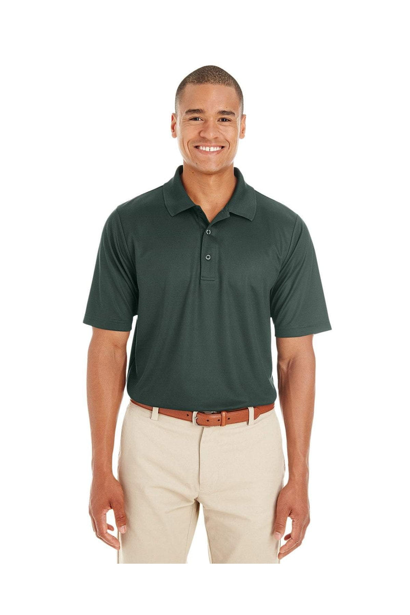 Ash City - Core 365 CE102: Men's Express Microstripe Performance Pique Polo-Polos-Bulkthreads.com, Wholesale T-Shirts and Tanks