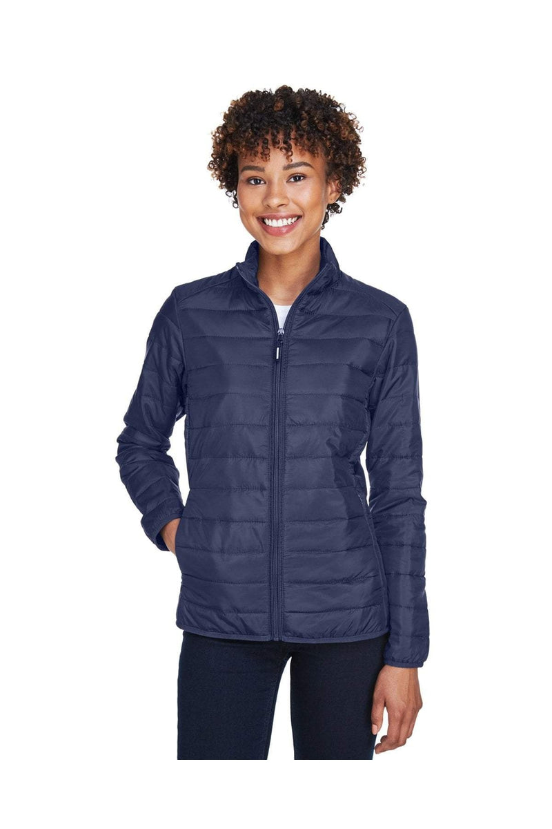 Ash City - Core 365 CE700W: Ladies' Prevail Packable Puffer Jacket-Outerwear-Bulkthreads.com, Wholesale T-Shirts and Tanks