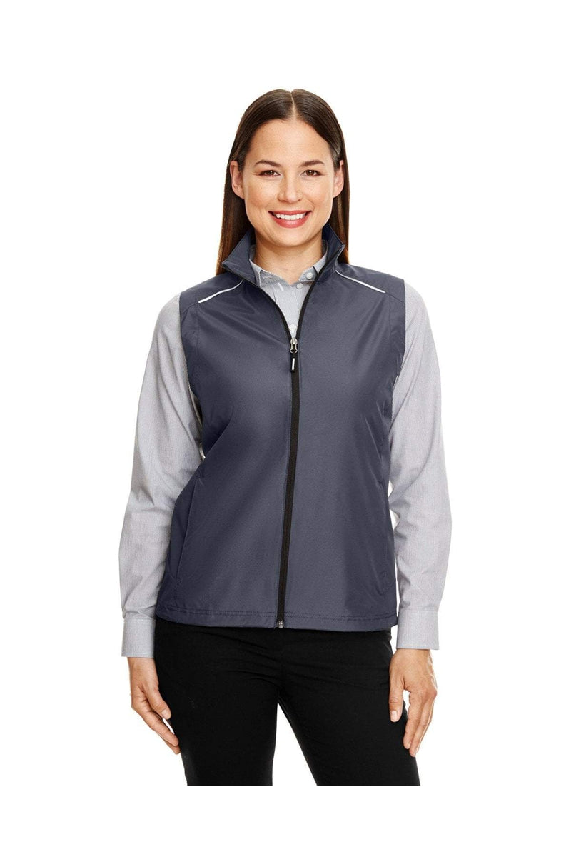 Ash City - Core 365 CE703W: Ladies' Techno Lite Unlined Vest-Outerwear-Bulkthreads.com, Wholesale T-Shirts and Tanks