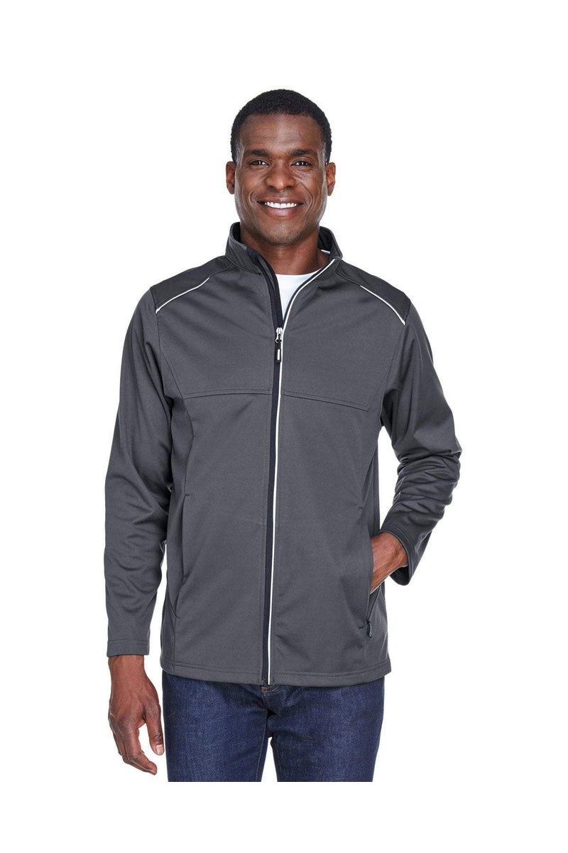 Ash City - Core 365 CE708: Men's Techno Lite Three-Layer Knit Tech-Shell-Outerwear-Bulkthreads.com, Wholesale T-Shirts and Tanks