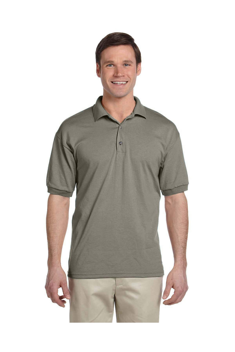 Gildan G880: Adult 6 oz. 50/50 Jersey Polo, Basic Colors-Polos-Bulkthreads.com, Wholesale T-Shirts and Tanks