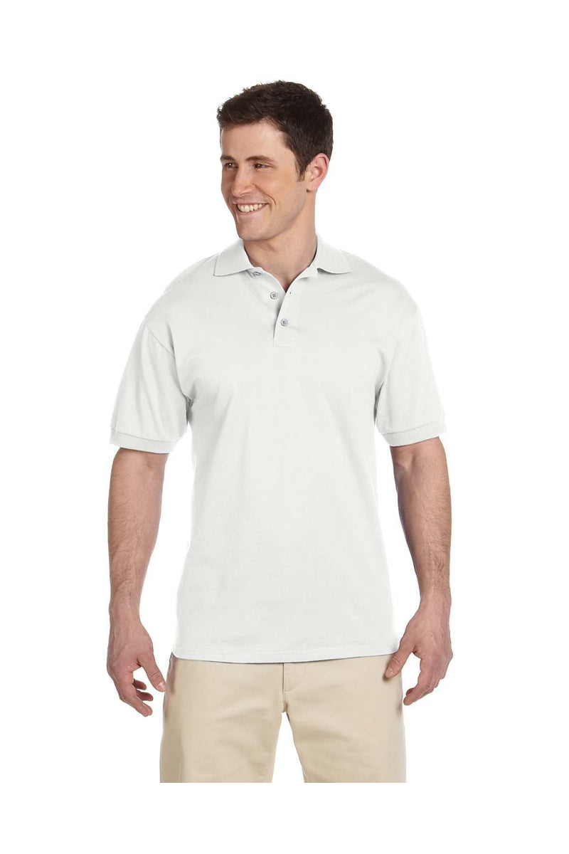 Jerzees J100: Adult 6.1 oz. Heavyweight Cotton(tm) Jersey Polo-Polos-Bulkthreads.com, Wholesale T-Shirts and Tanks