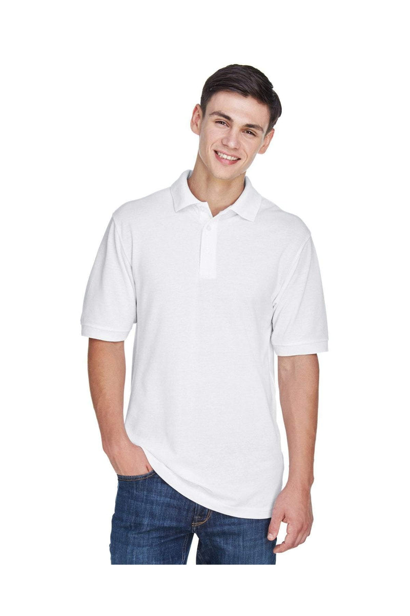 Harriton M265: Men's 5.6 oz. Easy Blend(tm) Polo, Basic Colors