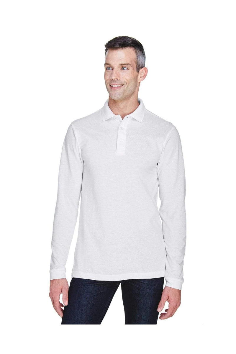 Harriton M265L: Men's 5.6 oz. Easy Blend(tm) Long-Sleeve Polo