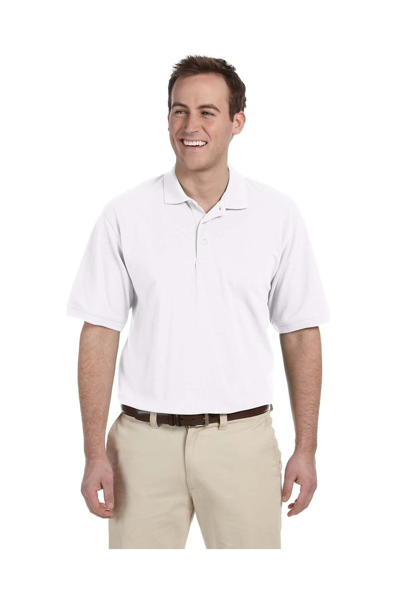 Harriton M265T: Men's Tall 5.6 oz. Easy Blend(tm) Polo