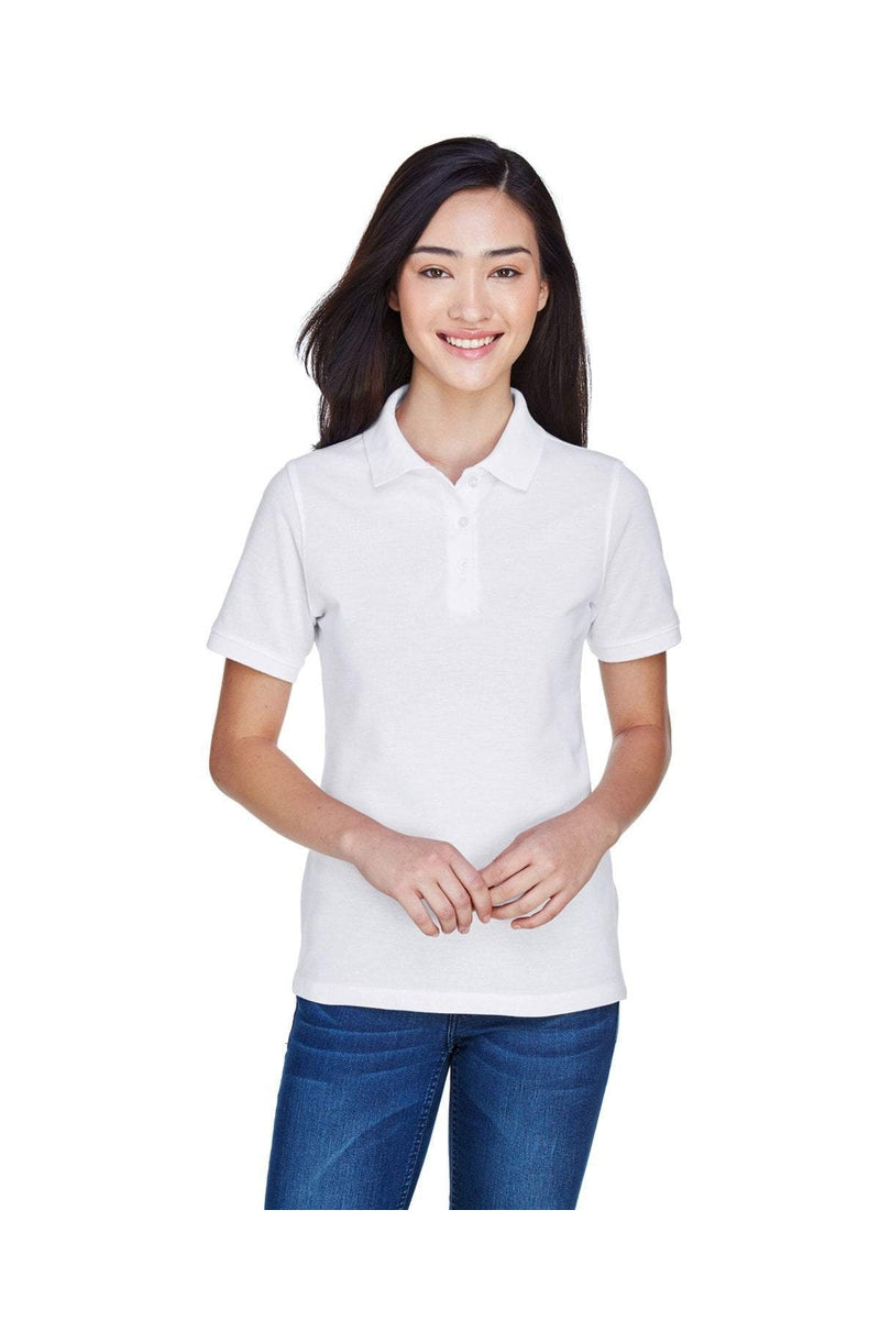 Harriton M265W: Ladies' 5.6 oz. Easy Blend(tm) Polo