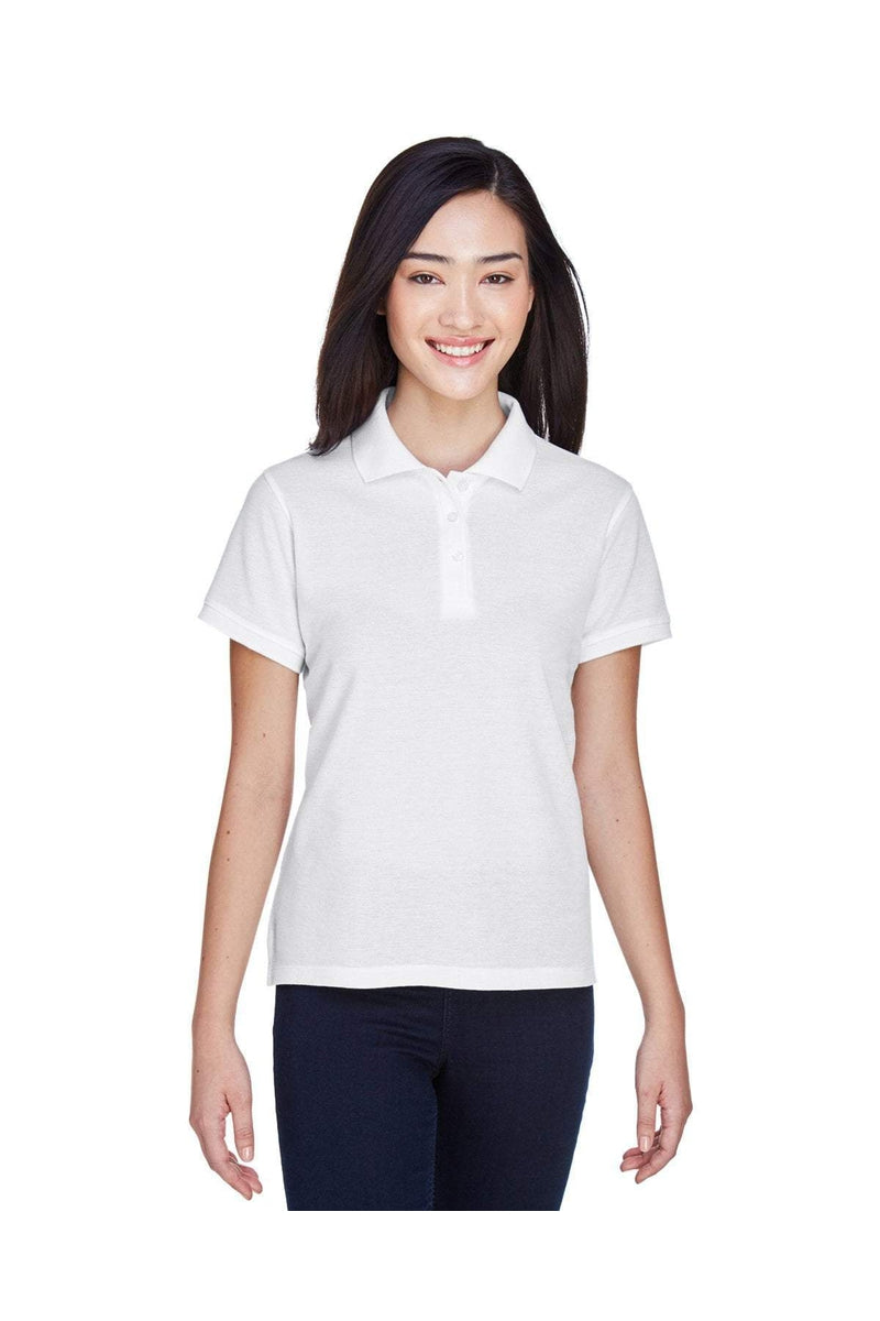 Harriton M280W: Ladies' 5 oz. Blend-Tek(tm) Polo