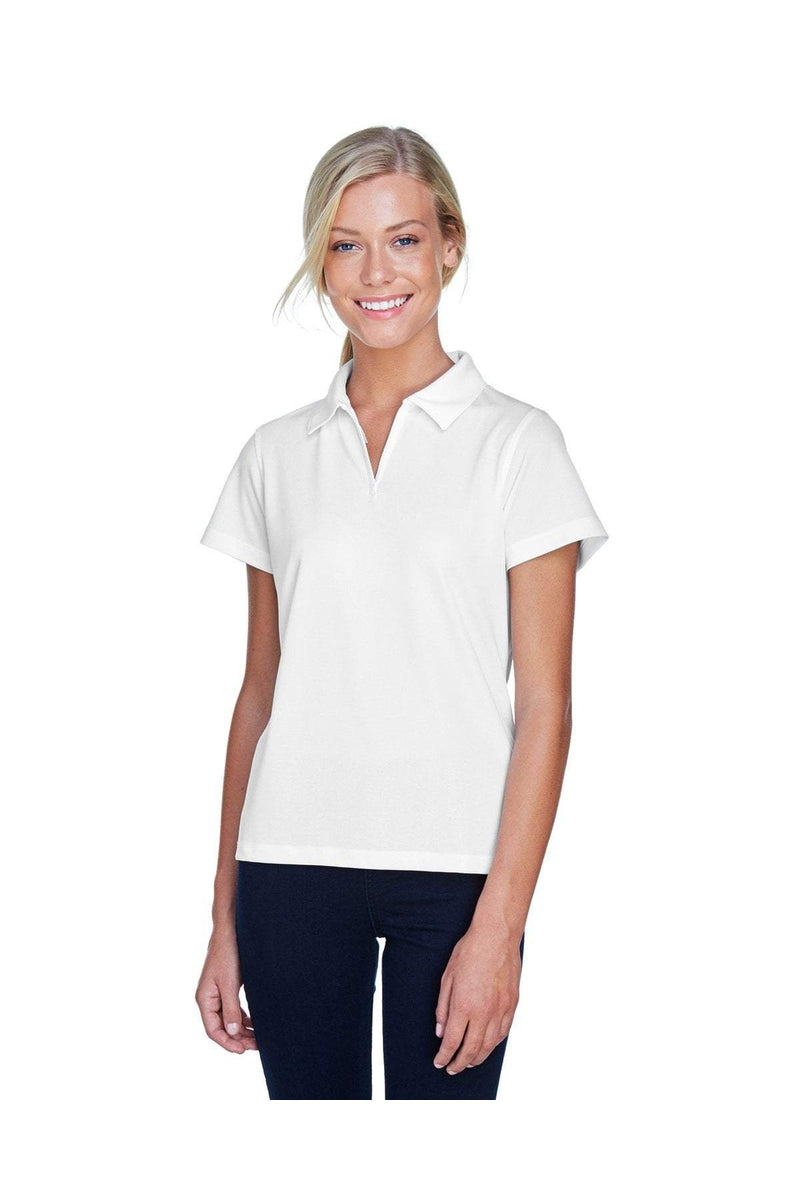 Harriton M353W: Ladies' Double Mesh Polo-Polos-Bulkthreads.com, Wholesale T-Shirts and Tanks