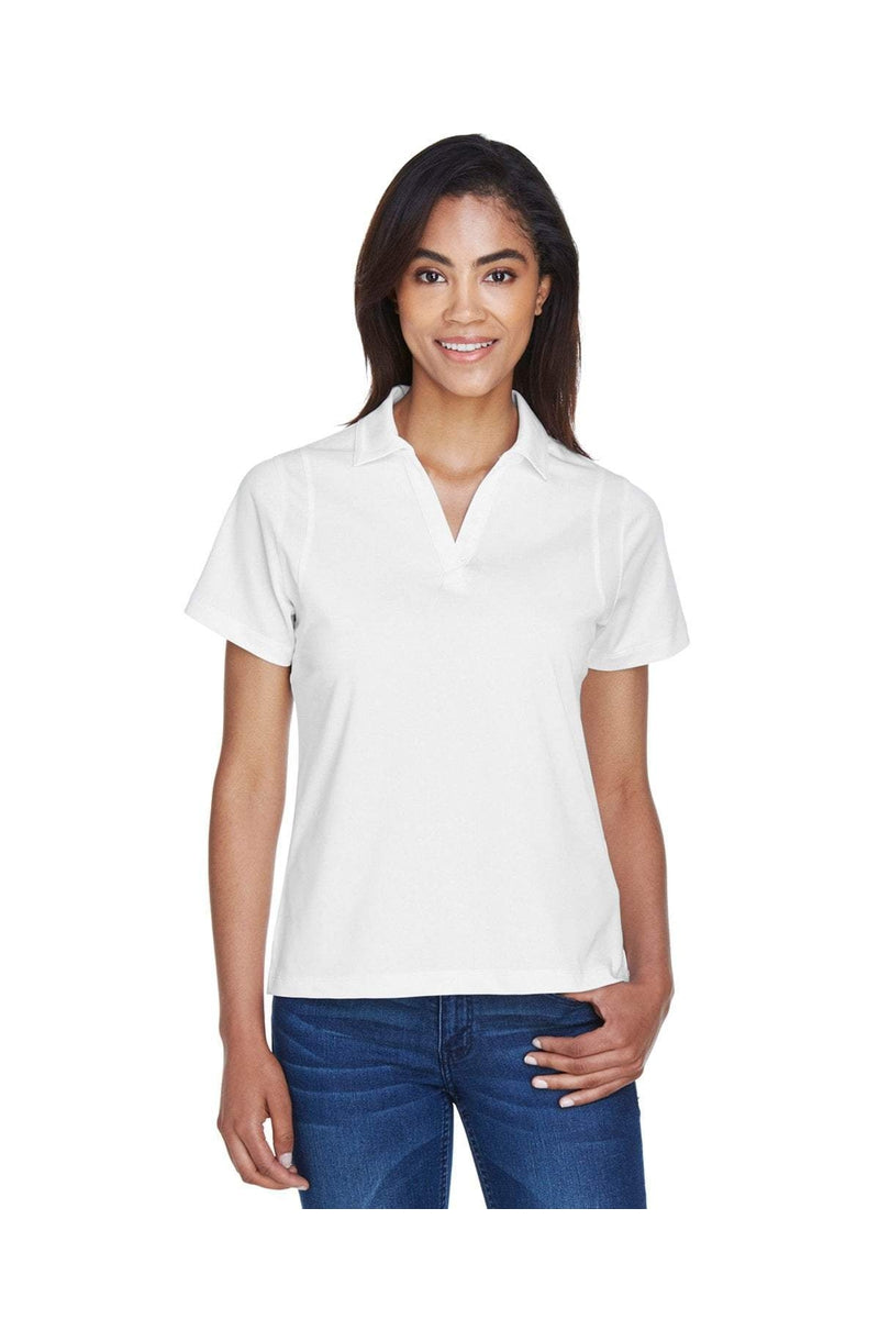Harriton M354W: Ladies' Micro-Pique Polo-Polos-Bulkthreads.com, Wholesale T-Shirts and Tanks