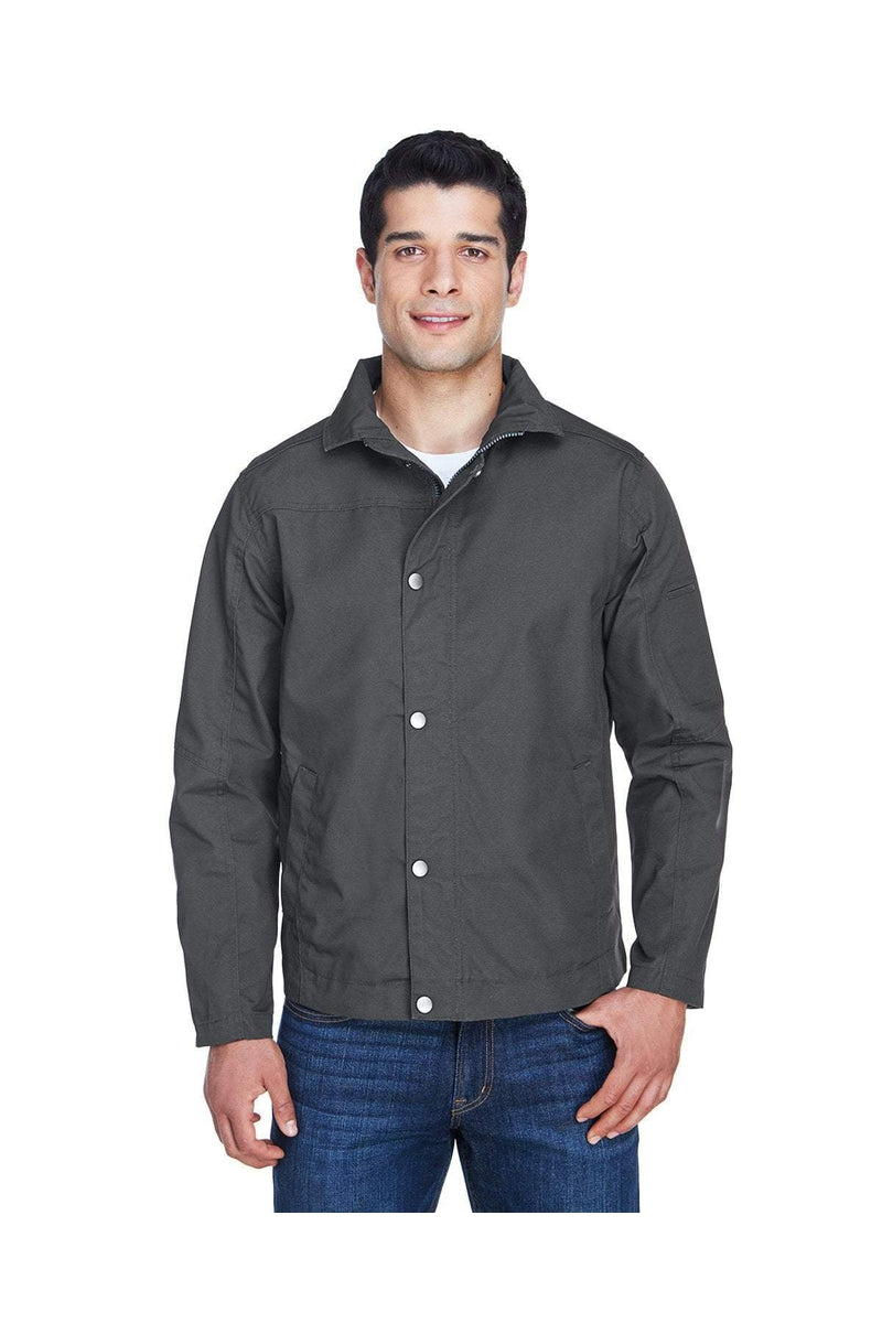 Harriton M705: Men's Auxiliary Canvas Work Jacket-Outerwear-Bulkthreads.com, Wholesale T-Shirts and Tanks