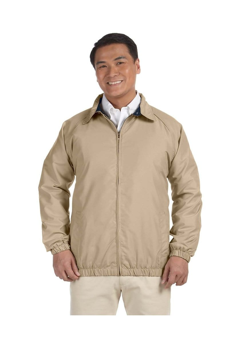 Harriton M710: Adult Microfiber Club Jacket-Outerwear-Bulkthreads.com, Wholesale T-Shirts and Tanks