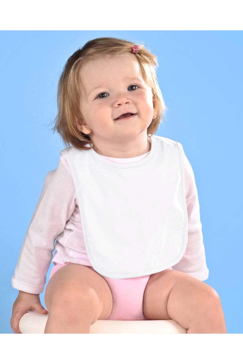 Rabbit Skins RS1005: Infant Premium Jersey Bib-Infants | Toddlers-Bulkthreads.com, Wholesale T-Shirts and Tanks